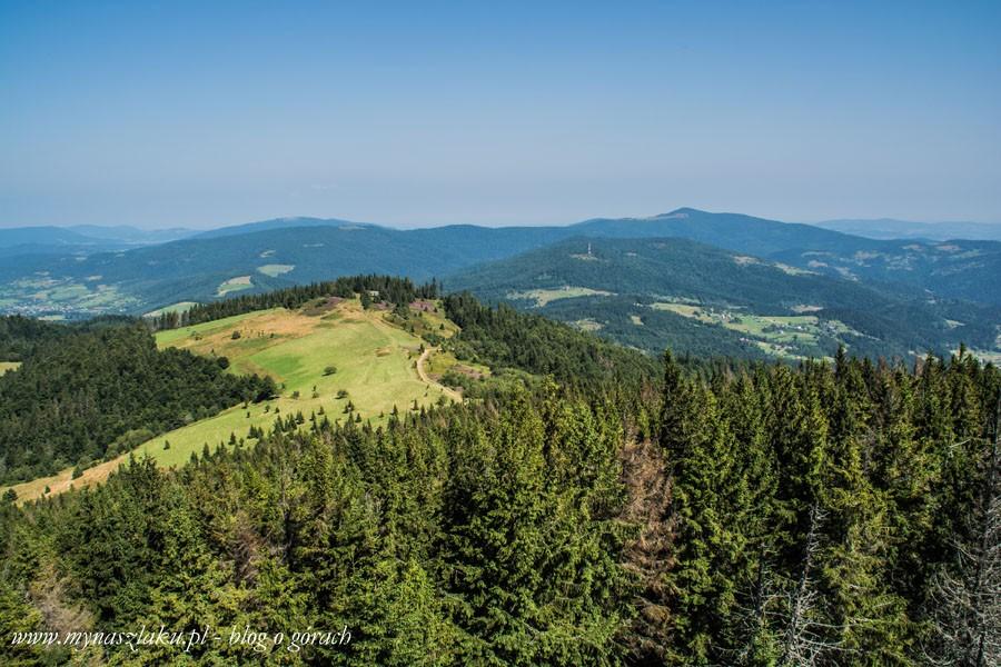 Gorce: Niebieskim szlakiem z Rzek na Gorc