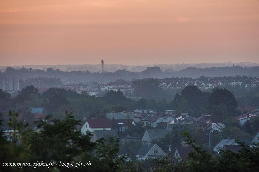 Odkrywamy Polskę: Góra Rudzka i Łódź w blasku porannego słońca