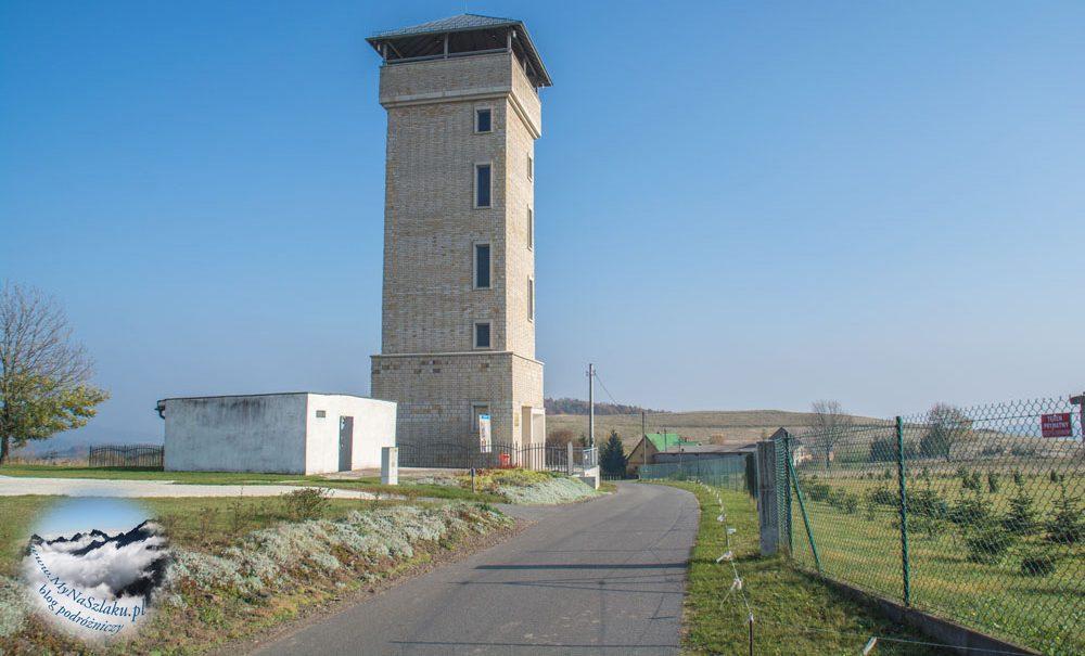 Wzgórza Ścinawskie: wieża widokowa w Suszynie