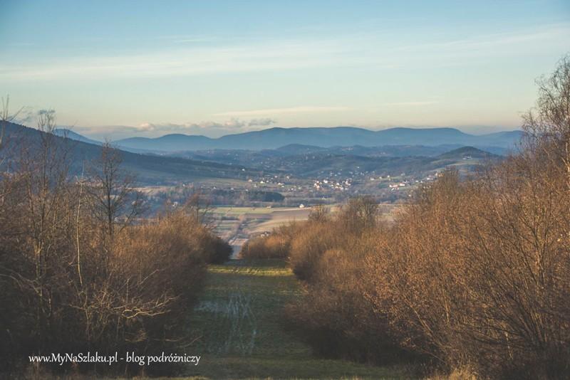 Iwkowa, Biały Jeleń, Rogozowa i droga na najwyższy szczyt Pogórza Wiśnickiego