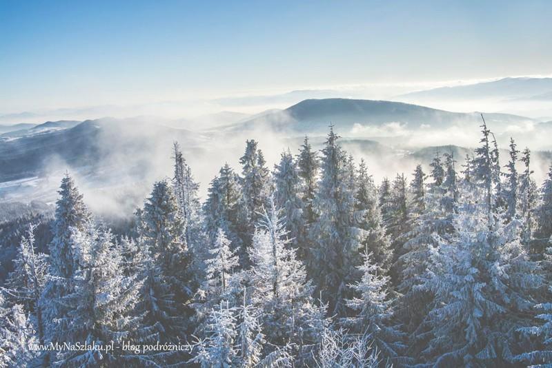Korona Gór Polski: Jurków – Mogielica w cudownych warunkach