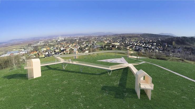 Winna Góra i plan na nową platformę widokową