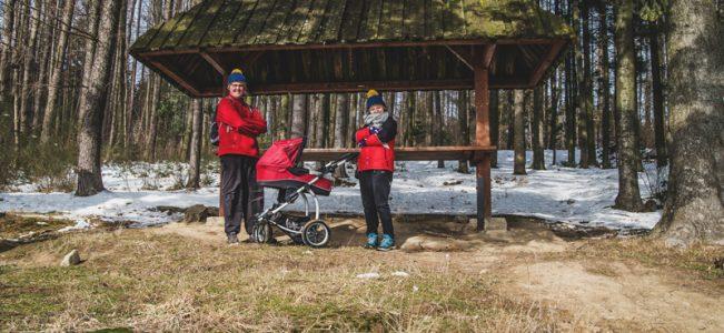 Wycieczka w góry z niemowlakiem w wózku – Jodłowiec Wielki