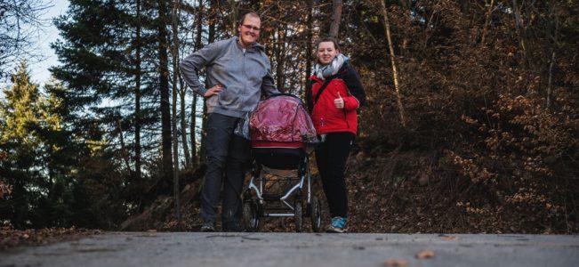 Pogórze Rożnowskie: Ostra Góra i zima w kolorach jesieni