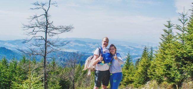 Korona Gór Polski: Radziejowa | pieczątka i zamknięta wieża widokowa