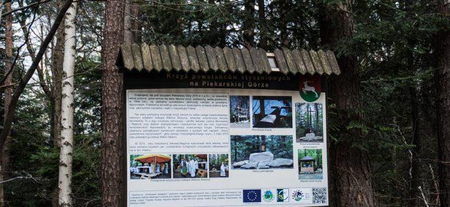 Pogórze Wiśnickie: Iwkowa – Piekarska Góra | pierwszy raz Maja w chuście