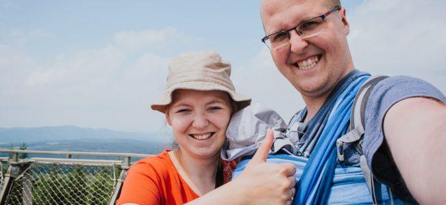 Borowa – najwyższy szczyt Gór Wałbrzyskich z wieżą widokową