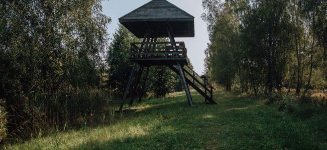 """Poleski Park Narodowy: Ścieżka przyrodniczo-historyczna """"Obóz Powstańczy"""""""