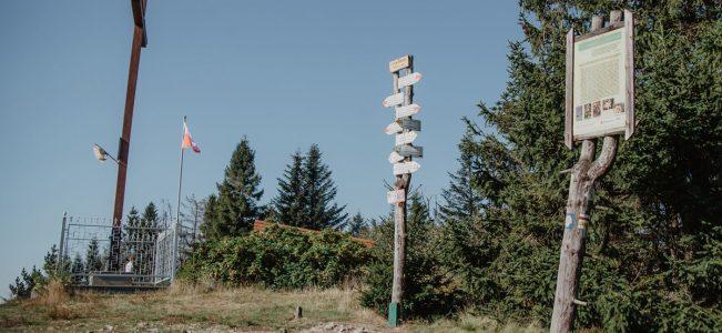 Najkrótszy szlak na Leskowiec i Groń Jana Pawła II