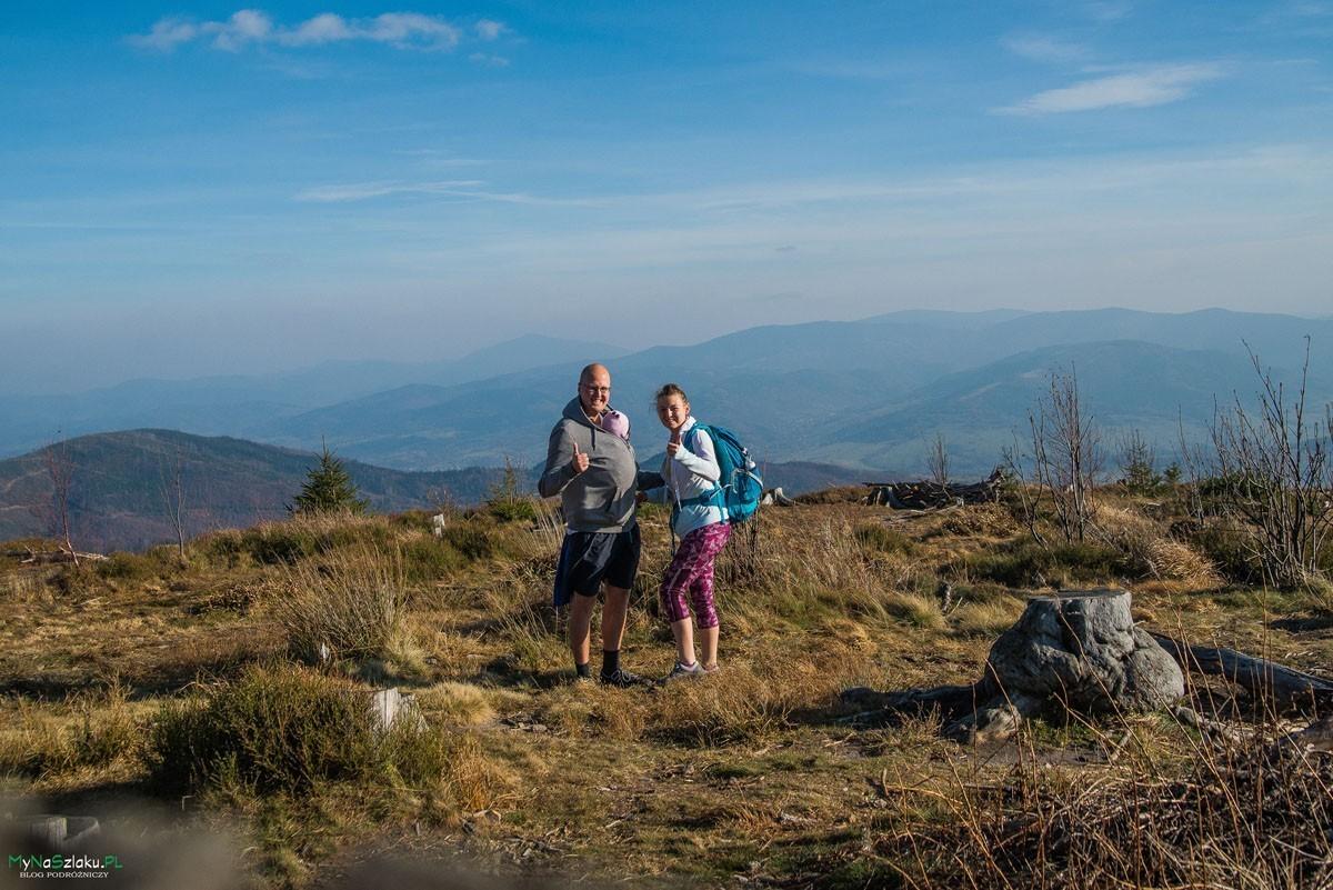 Barania Góra z dzieckiem przez Stecówkę i Przysłop