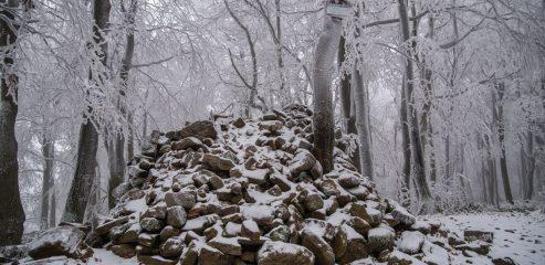 Korona Beskidu Niskiego: Kamień nad Jaśliskami