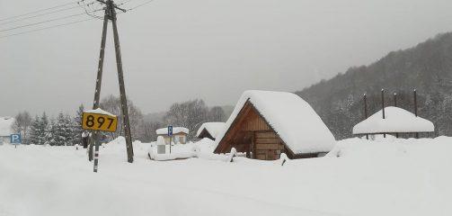 Bieszczady: Wszystkie szlaki w BdPN zamknięte do odwołania