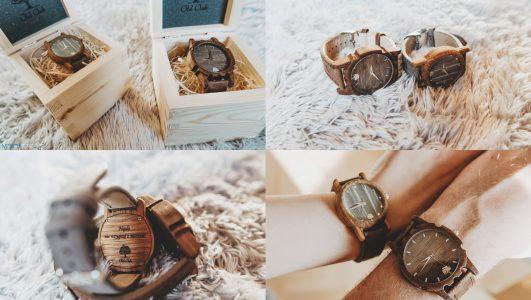 Drewniane i spersonalizowane zegarki Old Oak