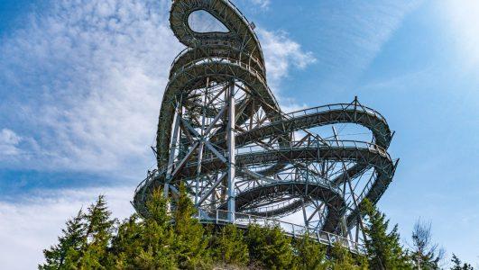 Sky Walk czyli Ścieżka w Obłokach w Dolni Morava w Czechach