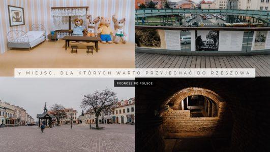 7 miejsc, dla których warto przyjechać do Rzeszowa