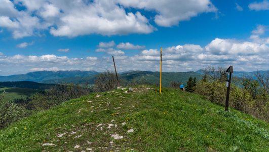 Kozí chrbát – najwyższy szczyt w Górach Starohorskich