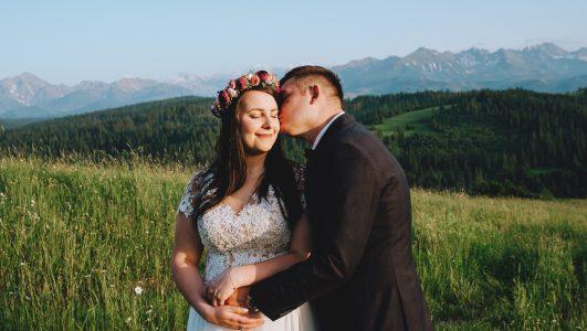 Najpiękniejsze miejsca na plener ślubny. Z Agnieszką i Pawłem na Podhalu