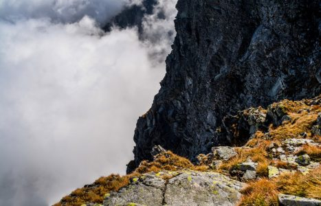 Przełączka pod Rysami – najtrudniejsze miejsce na szlaku na Rysy