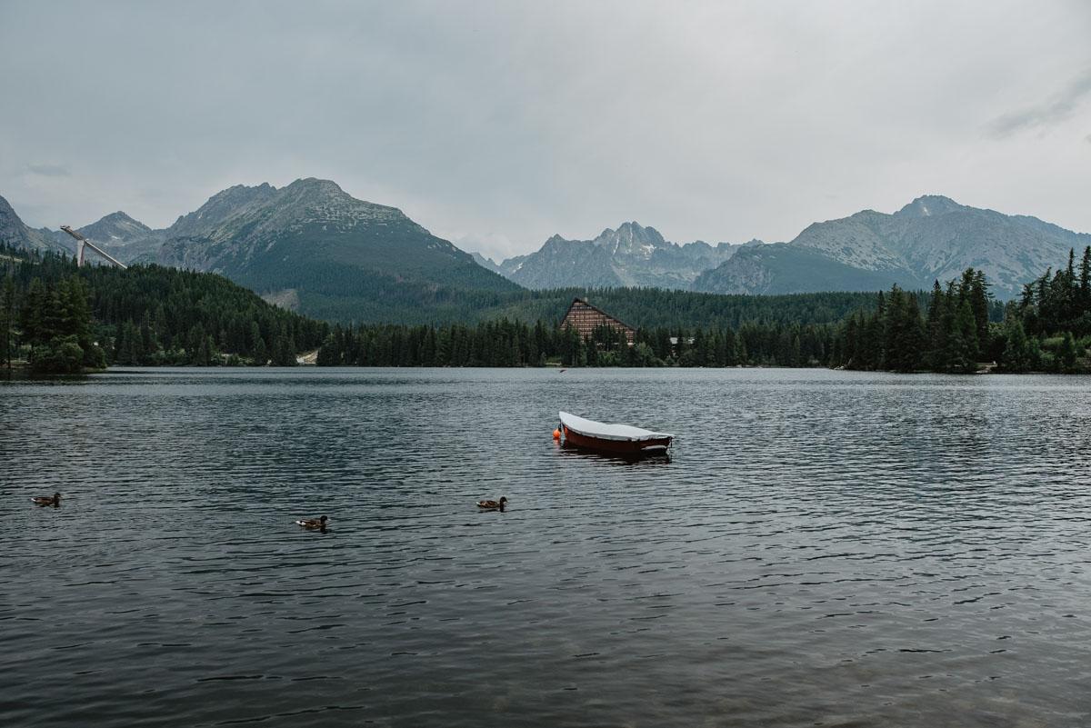 Szczyrbskie Jezioro