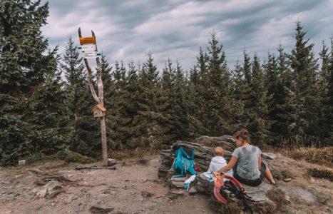 Szczyt Kowadło w Górach Złotych – Korona Gór Polski
