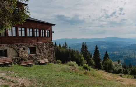 Na Stożek Wielki z Przełęczy Kubalonka w Beskidzie Śląskim