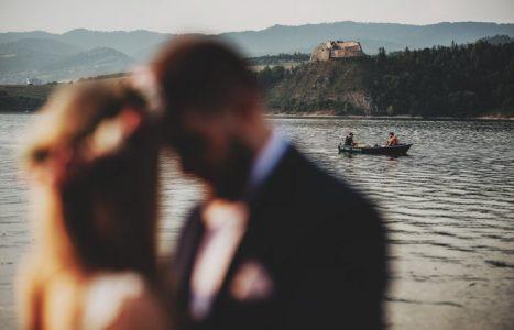Plener ślubny nad Jeziorem Czorsztyńskim