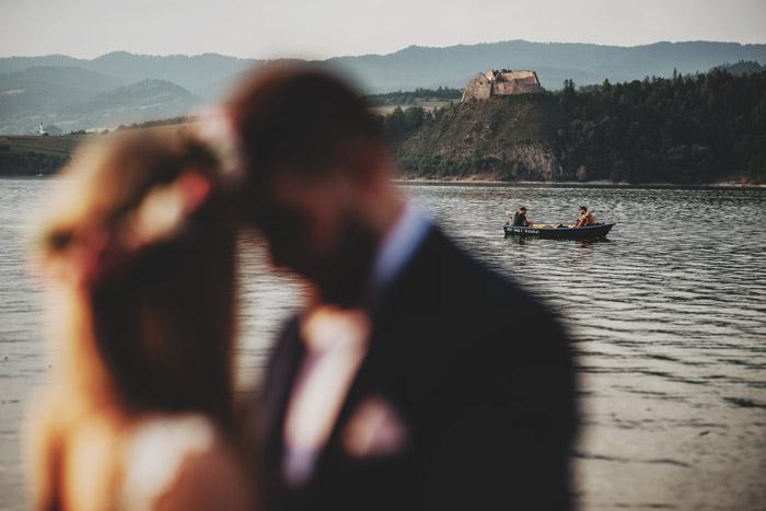 Sesja ślubna Jezioro Czorsztyńskie