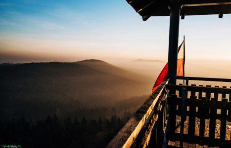 Co widać z wieży na Szpilówce w Iwkowej? – opis panoram