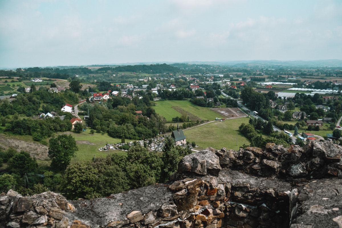 Jak Zamek w Czchowie wyglądał przed rekonstrukcją?