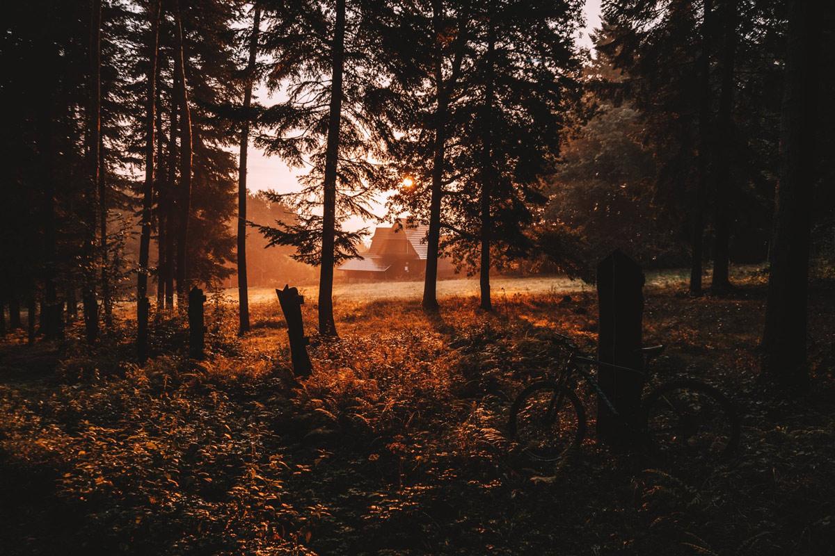 Trasy rowerowe w Iwkowej