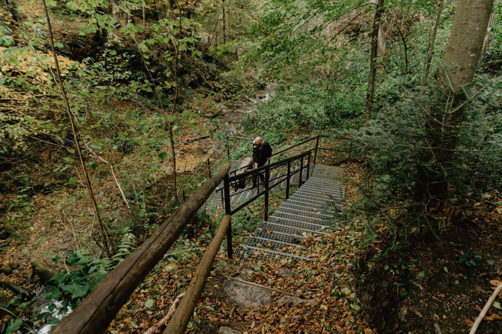 Szepit - najwyższy wodospad w Bieszczadach