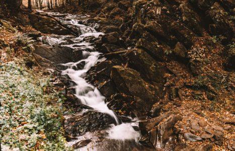 Szepit na Hylatym – największy wodospad w Bieszczadach