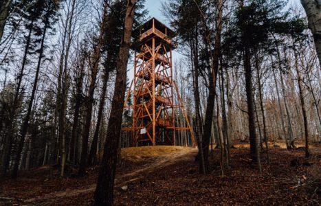 Ferdel – wieża widokowa, Kornuty, Magóra Jasielska, Wątkowa i Magura