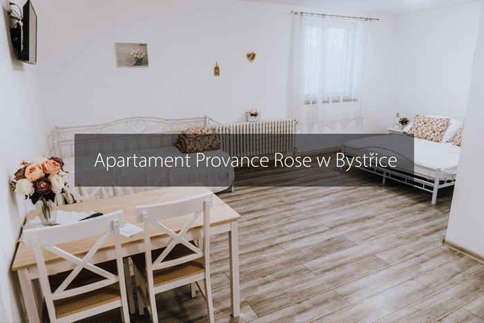 apartman provance rose bystrice