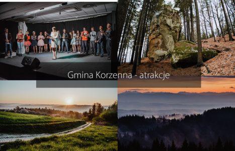Co warto zobaczyć i zrobić w gminie Korzenna?