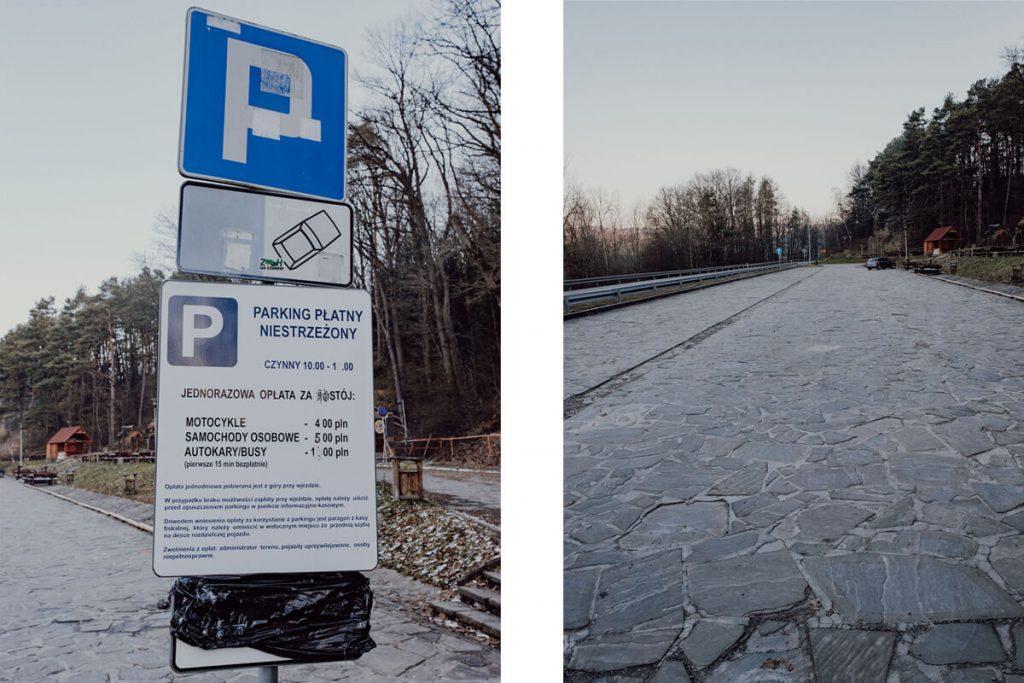 parking skamieniale miasto
