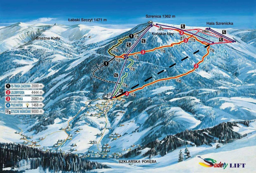 ski arena szklarska poreba