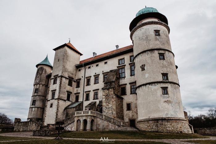 wisnicki zamek malopolska