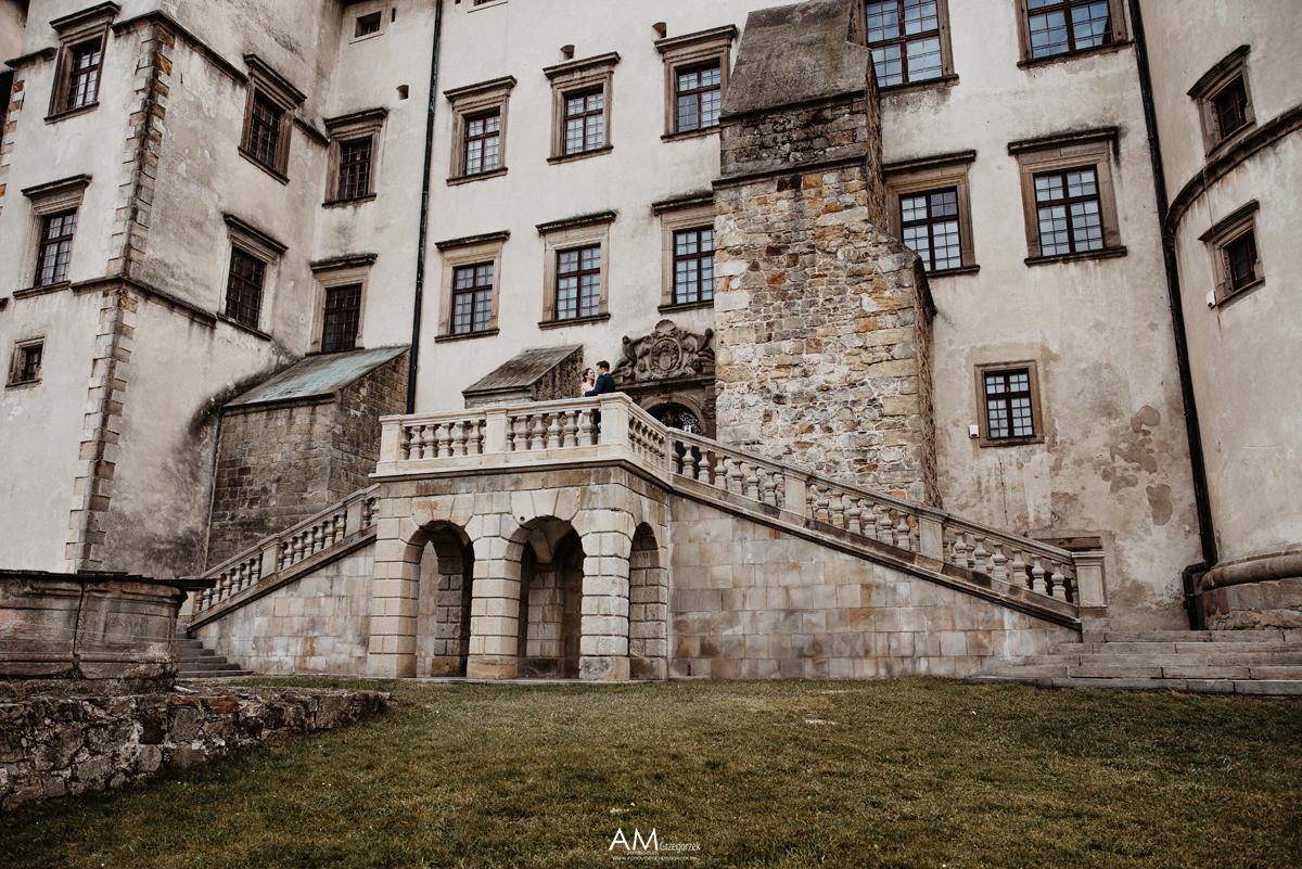 wisnicz zamek cennik sesji slubnej