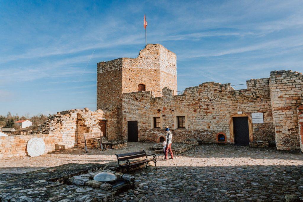 inowlodz zrekonstruowany zamek
