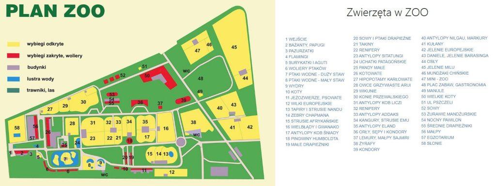 Zwiedzilismy Zoo Krakow Dojazd Cennik Parking Mapa