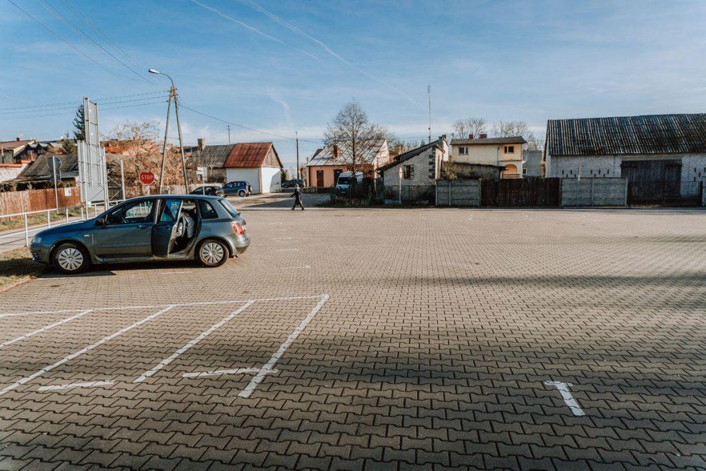 parking zamek inowlodz
