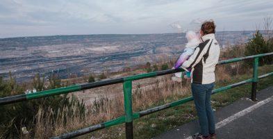 Kopalnia Bełchatów – największa dziura w Europie. Punkty widokowe – Żłobnica i Kleszczów