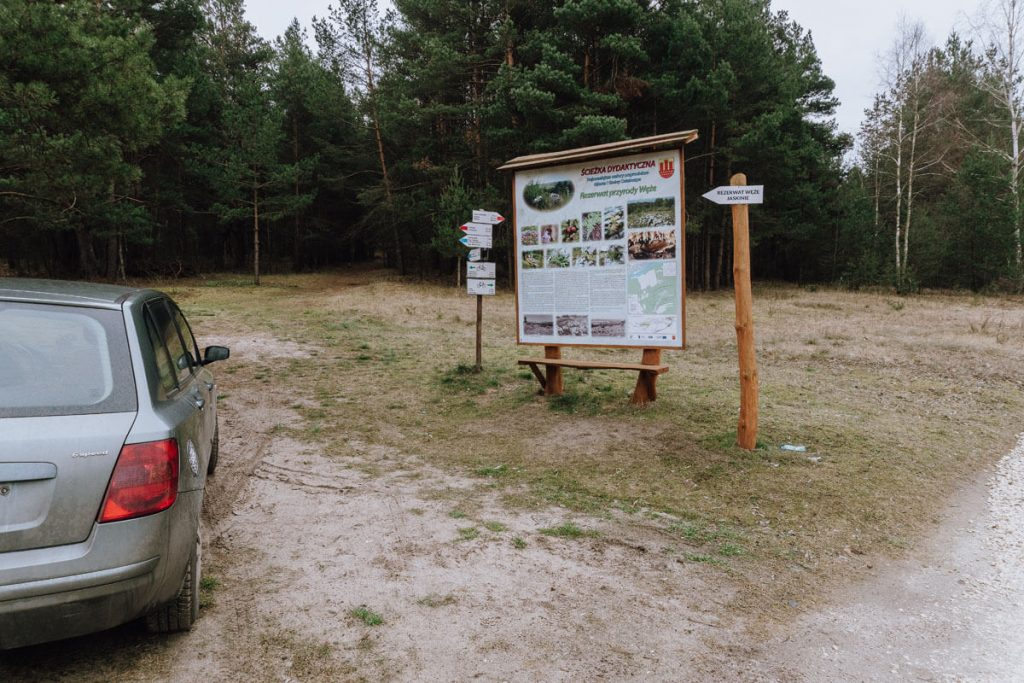 rezerwat weze parking