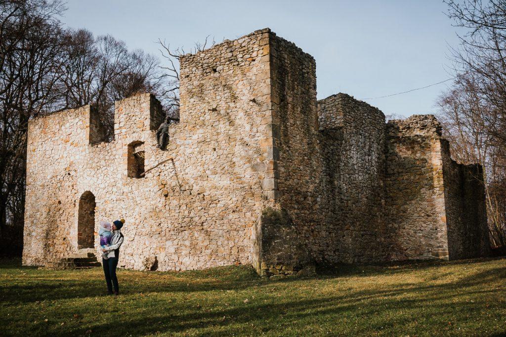 ruiny dworu obronnego bakowa gora zwiedzanie