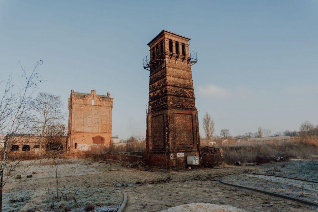 ruiny fabryki biedermanna