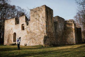 ruiny zamku bakowa gora