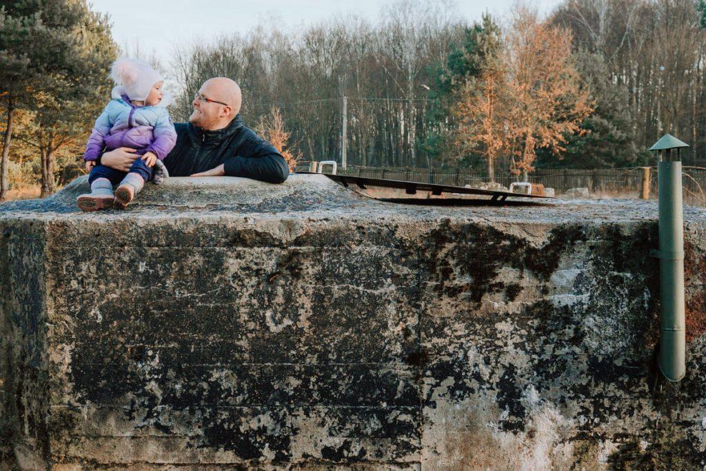 skansen rzeki pilicy z dzieckiem