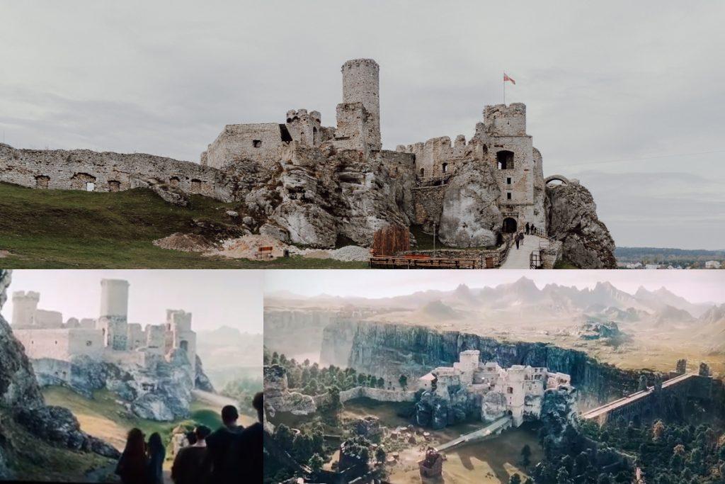 zamek ogrodzieniec wiedzmin netflix