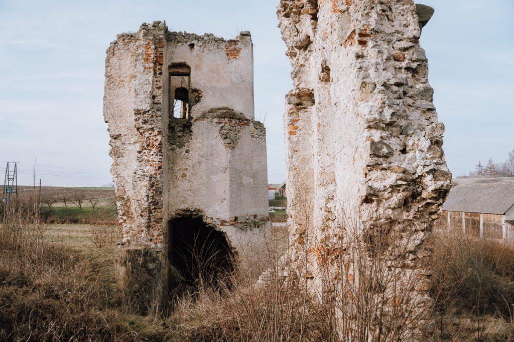 zamek w majkowicach